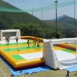 Calcio Saponato–Giochi Gonfiabili
