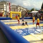 Calcio Saponato–Noleggio Gonfiabili