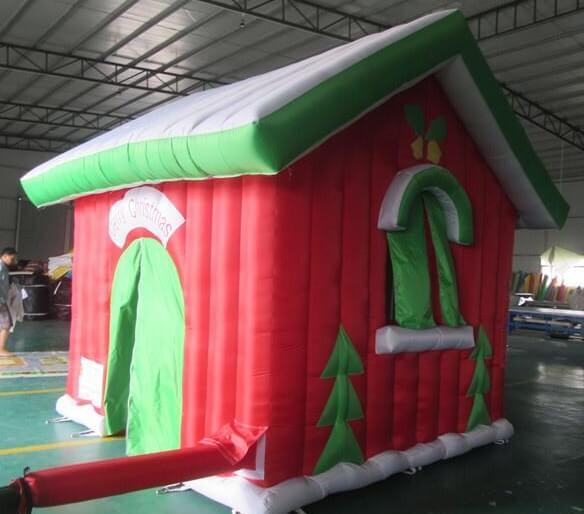noleggio gonfiabili natalizi casa di babbo natale