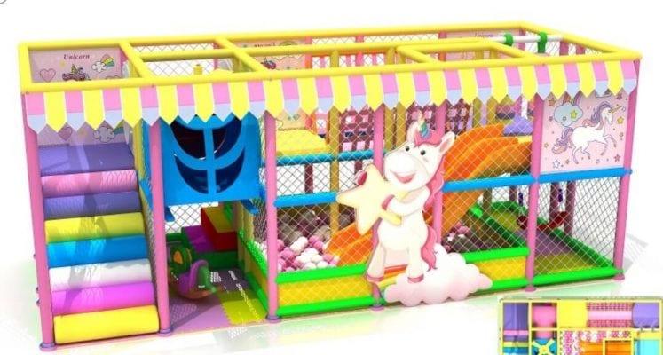 gioco playground unicorno