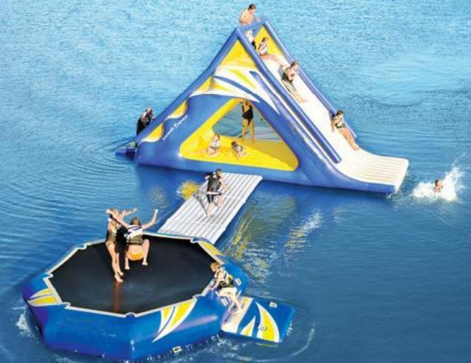 giochi da mare gonfiabili galleggianti