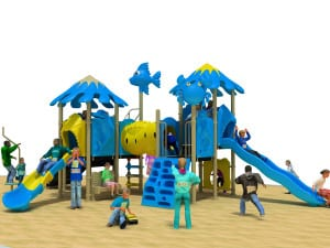 Playground per esterno blueparkmarine