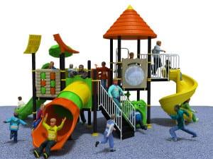 Playground da esterno Bubble