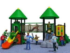 playground per esterni green
