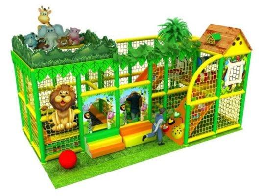 playground per interno jungle