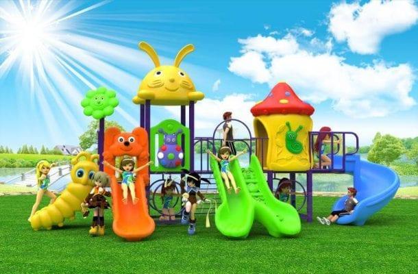 Playground da esterno factory