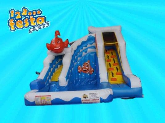 gioco gonfiabile acquatico per bambini