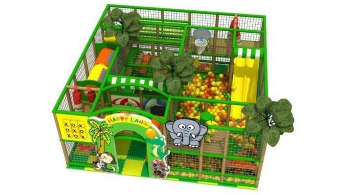 playground giochi tema savana