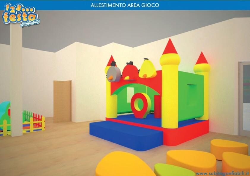 costruzione ludoteca per bambini