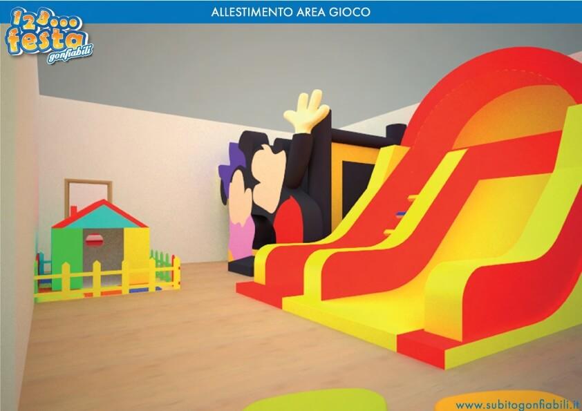 creazione ludoteca per bambini