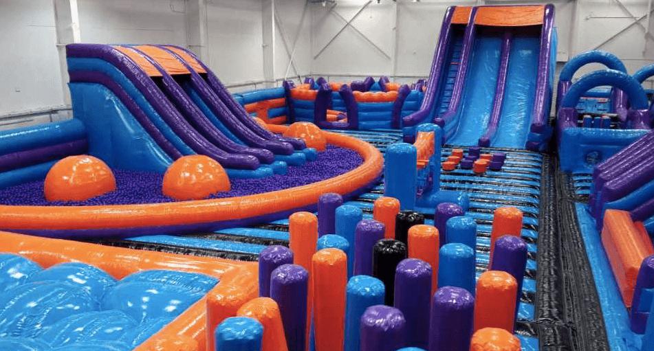 gigante parco giochi gonfiabile