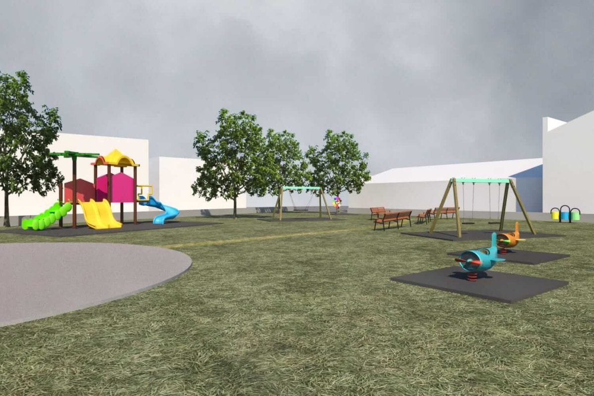 parco giochi per bambini creazione