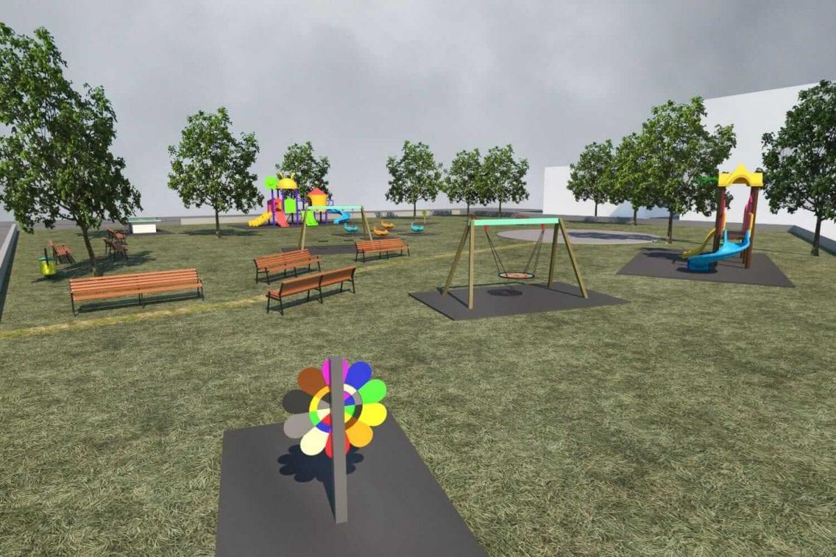progettazione e realizzazione parco giochi