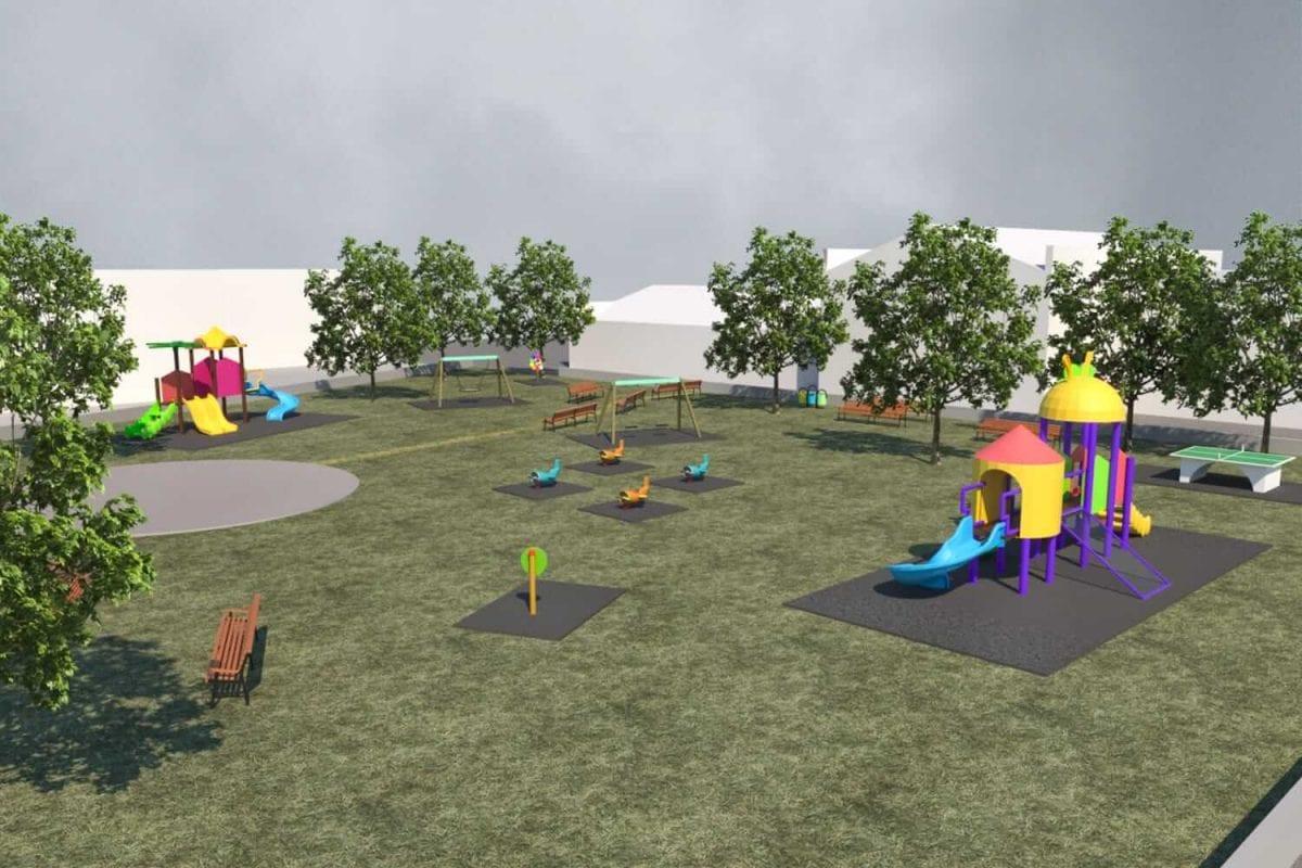 progettazione parco giochi