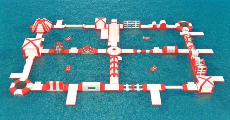 parco acquatico galleggiante