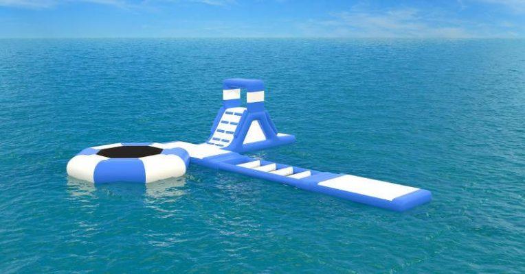 progettazione acquapark gonfiabile