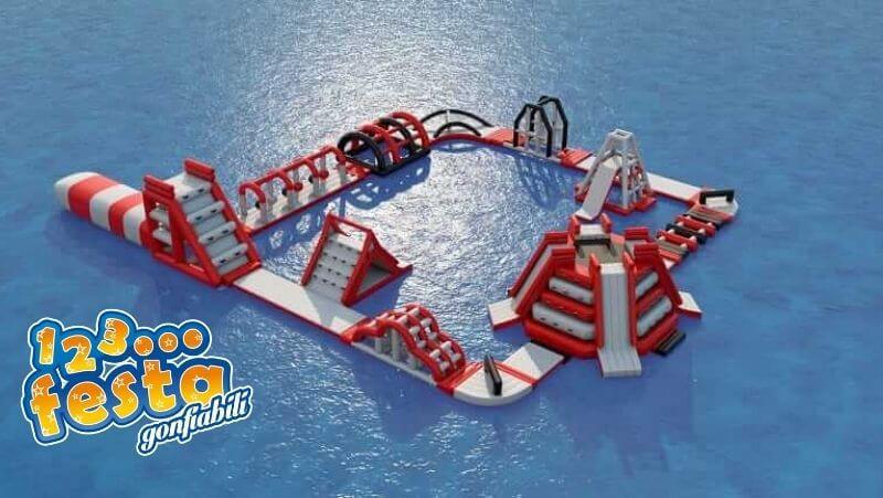 parco di giochi acquatici gonfiabili